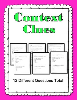 Context Clues-Easy
