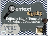 Context Clues Editable Companion {Freebie}