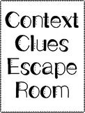 Context Clues Escape Room