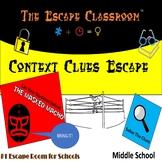 Context Clues Escape Room (6th - 8th Grade) | The Escape C