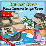 Nonfiction Context Clues - 2nd & 3rd Grade Reading Escape Room - Digital & Print