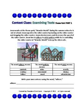 Context Clues: Examining Texts - The Theme Park Part 1
