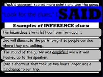 Context Clues FLIPCHARTS!
