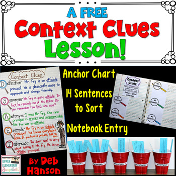 Context Clues: Three FREE Activities