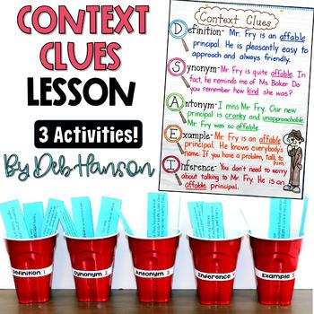 Context Clues: Three FREE Activities