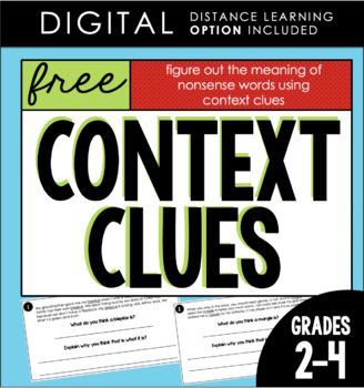 Context Clues FREEBIE! by Alyssha Swanson - Teaching and Tapas ...