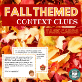 Context Clues Fall Theme with Halloween Freebie!