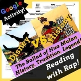 Google Forms Reading Context Clues Fiction Passage and Que