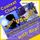 Frozen Themed Context Clues Passage with Questions Using H