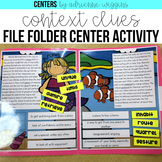 Context Clues File Folder Center