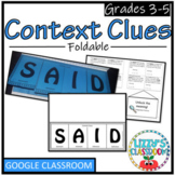 Context Clues Foldable- S.A.I.D