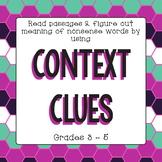 Context Clues Freebie