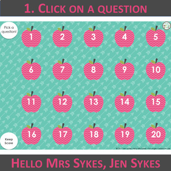 Context Clues Game #1 ~ Interactive PPT game with 20 questions, grades 2-4