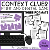 Context Clues Game | Context Clues Activity | Vocabulary Game