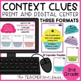 Context Clues Game Print and Digital Vocabulary Distance Learning