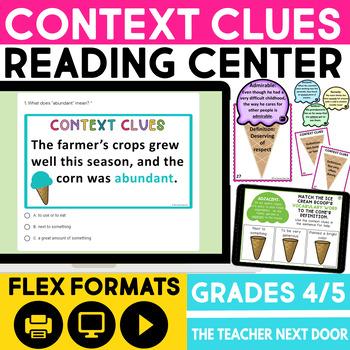 Context Clues Game | Context Clues Center