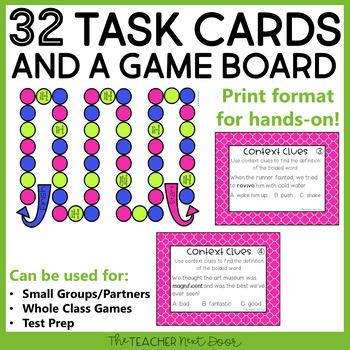 Context Clues Game   Context Clues Center   Context Clues Activities