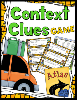 Context Clues Game - 40 Task Cards!