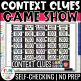 Context Clues Game Show | ELA Test Prep Reading Review Game | Digital