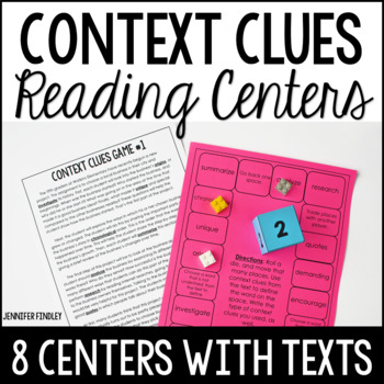 Context Clues Games | Reading Centers for Context Clues
