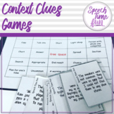 Context Clues Games