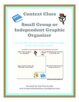 Context Clues Graphic Organizer