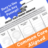 Context Clues Graphic Organizer with Visuals and Lines for