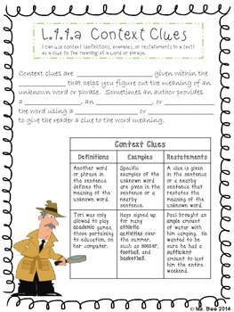 Context Clues, Greek & Latin Affixes & Roots, Reference Materials