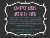 Context Clues Idea Pack