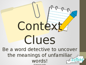 Context Clues Interactive!