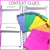 Context Clues Interactive Notebook