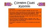 Context Clues Kaboom Center