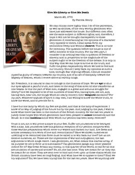 Context Clues: Knowing the different types. Patrick Henry featured