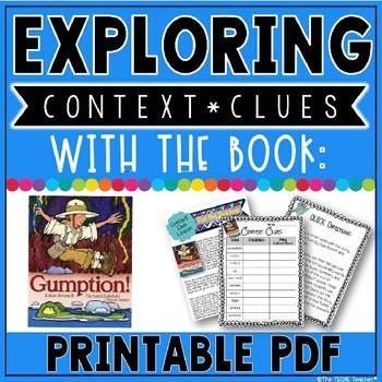 Context Clues Lesson: Gumption Book