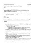 Context Clues Lesson Plan-Speech
