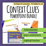 Context Clues Lesson and Quiz - PowerPoint