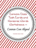 Context Clues Lesson with Task Cards  ~ Common Core Aligned
