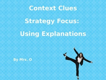 Context Clues Mini Lesson