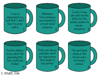Context Clues Matching Activities