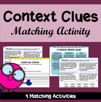 Context Clues Matching Activity