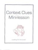 Context Clues Mini-Lessons