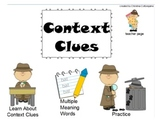 Context Clues Multiple Meaning Words