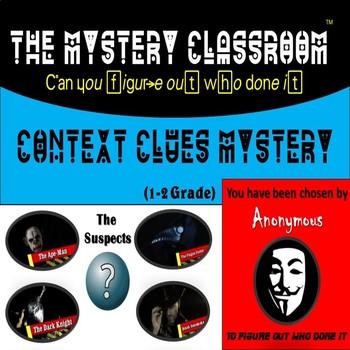 Context Clues Mystery (1-2 Grade) | The Mystery Classroom