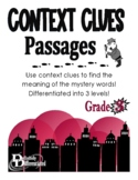 Context Clues - Differentiated Nonfiction Mystery Passages