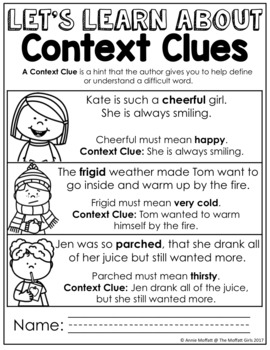 Context Clues NO PREP Packet
