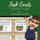 Context Clues Non-Sense Words Task Cards