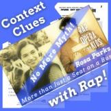 Context Clues Nonfiction Passage Questions Using Rosa Park