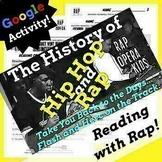 Context Clues Nonfiction Passage and Questions Using Rap Song, Google Forms ELA