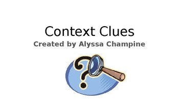 Context Clues PPT