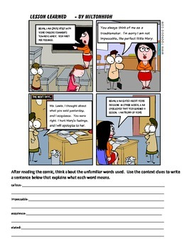 Context Clues Packet